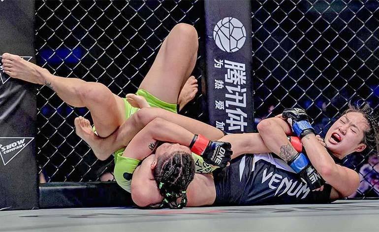 Angela Lee Top 5 MMA Finishes Kung Fu Kingdom 770x472