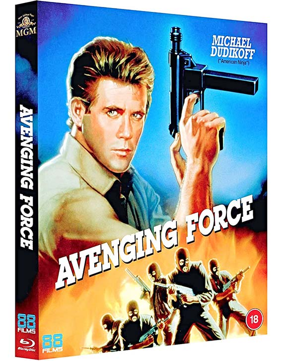 Avenging Force (1986) -now on Blu-ray