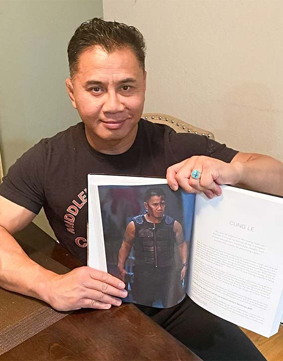 Cung Le with Life of Action II