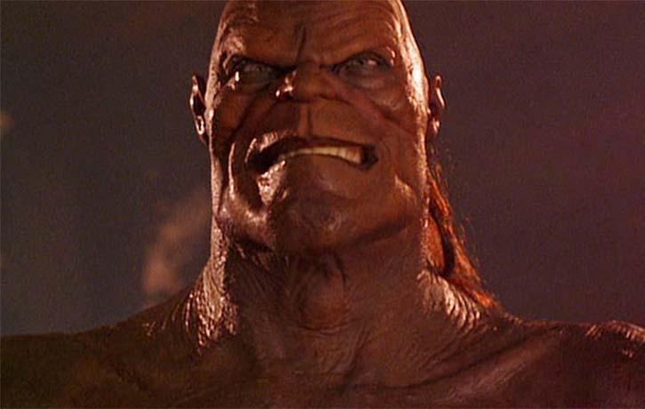 Goro is a merciless adversary in Mortal Kombat
