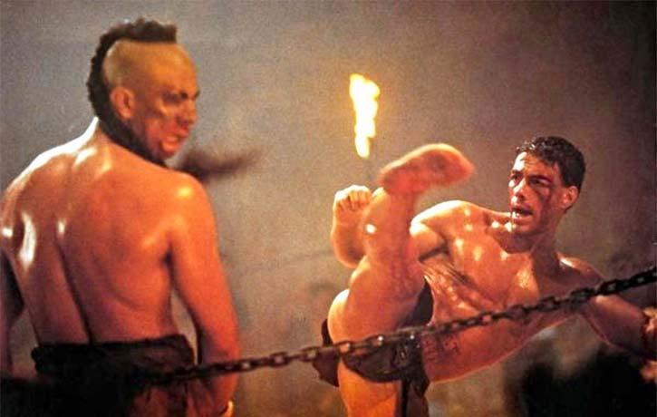 Jean Claude Van Damme in Kickboxer