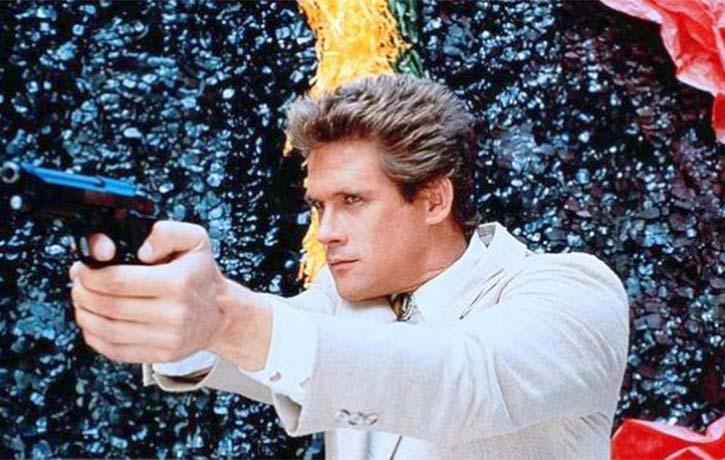 Michael Dudikoff stars as Matt Hunter a retired black ops agent