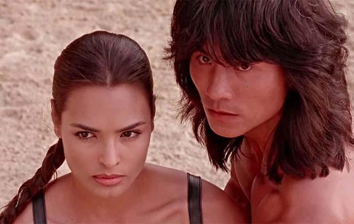 Princess Kitana and Liu Kang
