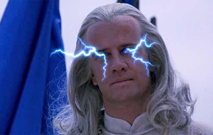 Raiden prepares to bring the thunder