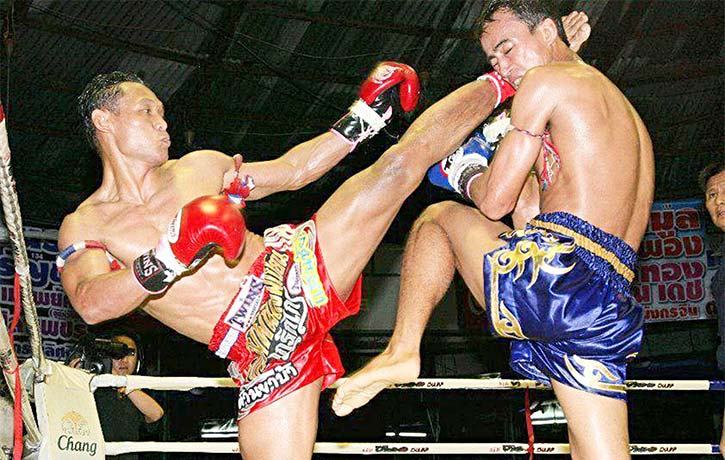 Saenchai in action