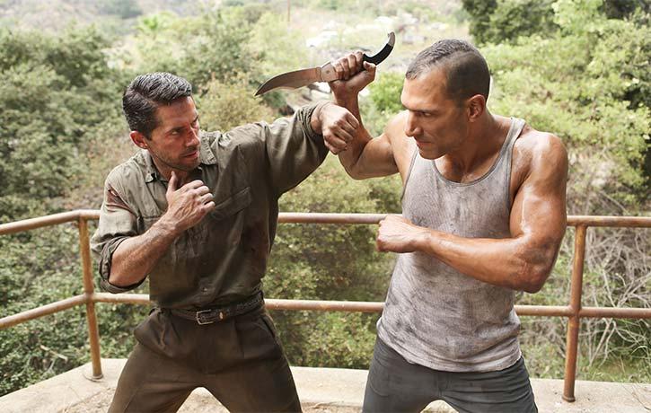 Scott Adkins and Marko Zaror do battle in Savage Dog