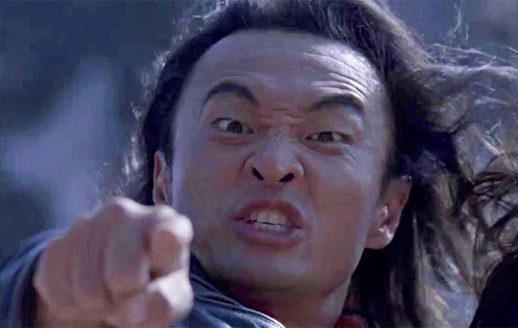 Shang Tsung blows a fuse