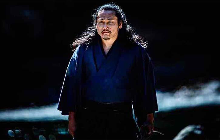 Tak Sakaguchi plays Miyamoto Musashi the legendary Samurai