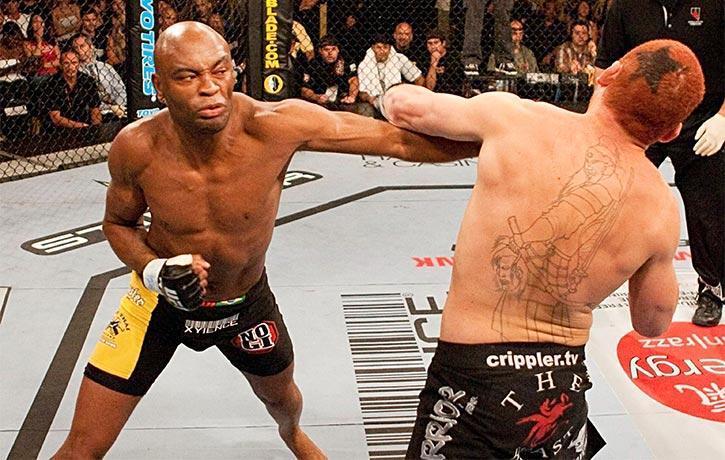 Anderson Silva vs Chris Leben