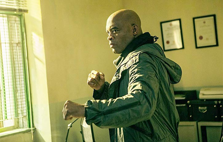 Anderson brings his MMA flair to film
