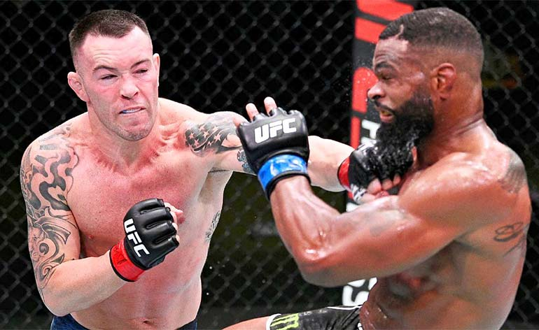Colby Covington defeats Tyron Woodley at UFC Fight Night 178