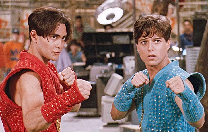 Going back a few years with Mark in the fun Double Dragon