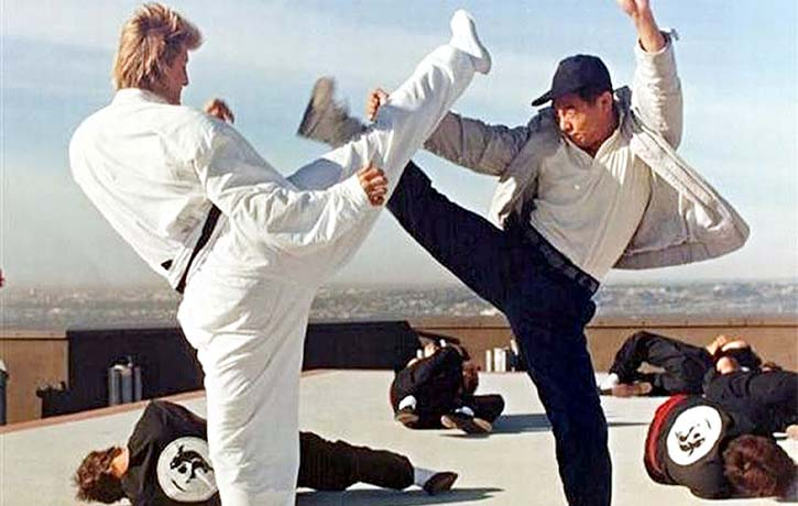 Jet Li vs Jerry Trimble superb fight