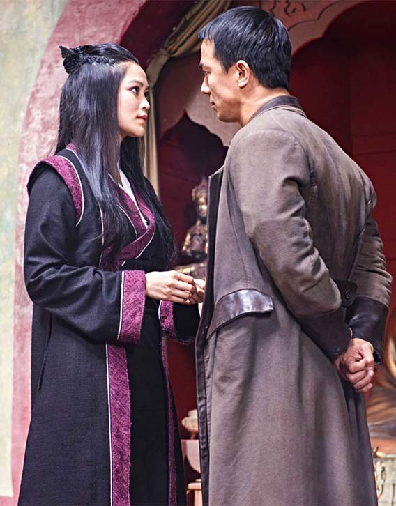 Joe Taslim plays gang enforcer Li Yong on Warrior