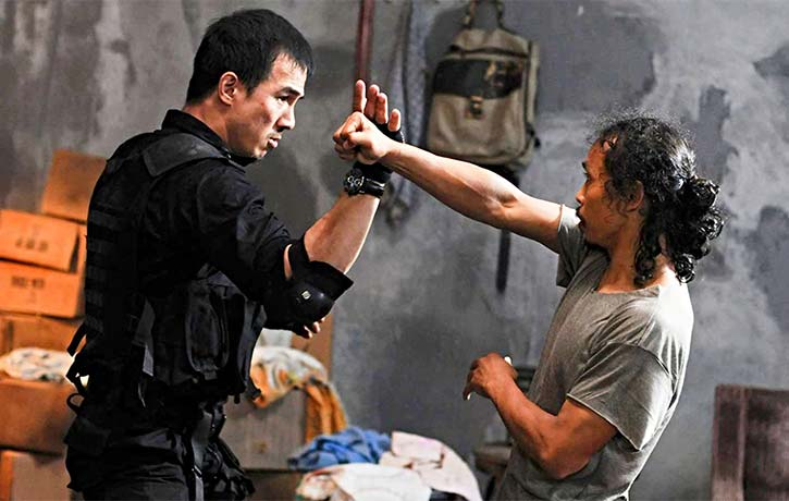 Joe stands his ground as Jaka in The Raid