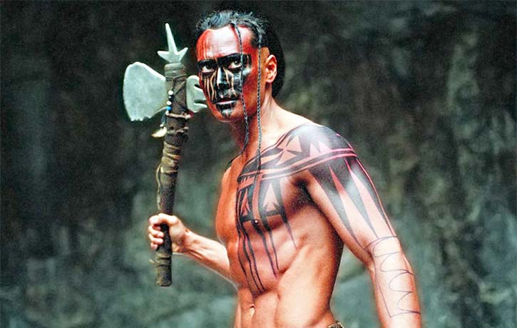 Mark Dacascos as Mani in Brotherhood of the Wolf