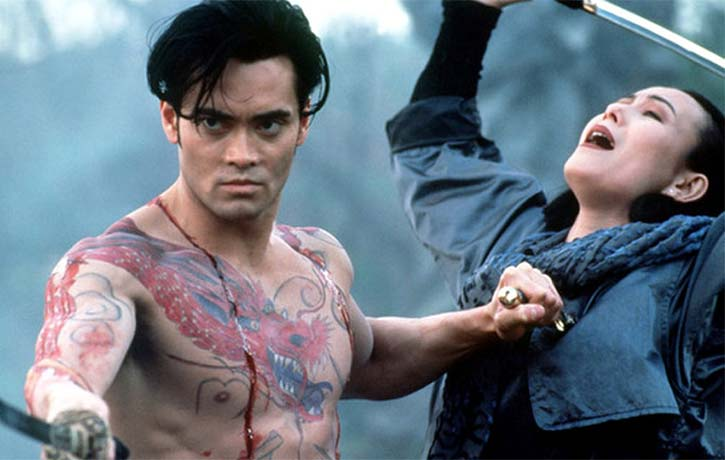Mark Dacascos in manga adaptation Crying Freeman