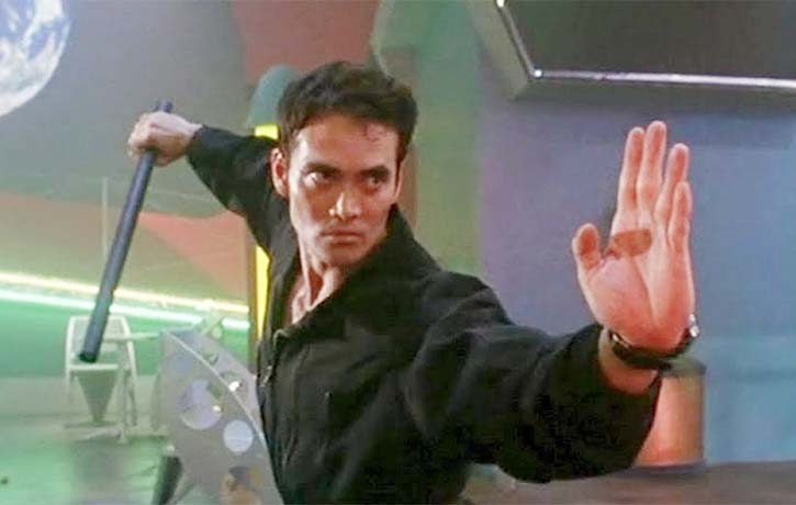 Mark Dacascos in the cult action classic Drive