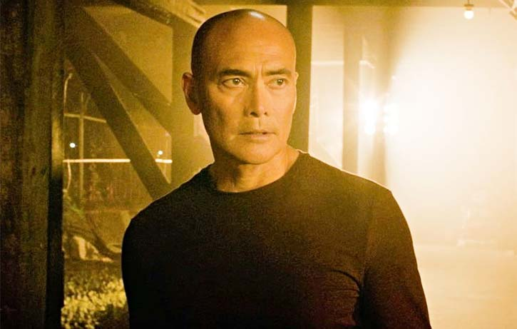 Mark Dacascos is The Driver