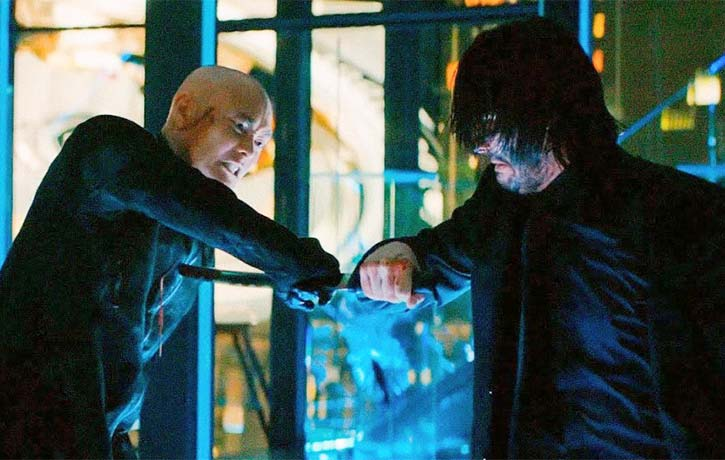 Mark brings his all to John Wick Chapter 3 Parabellum