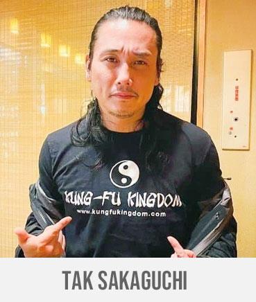 TAK SAKAGUCHI - Kung Fu Kingdom