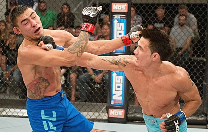 Thanh Le defeats Andres Quintana on The Ultimate Fighter