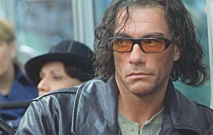 A very creepy Van Damme plays a psychotic serial killer known as The Torch