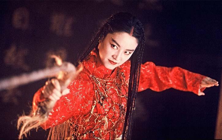 Brigitte Lin stars as Lian Nichang