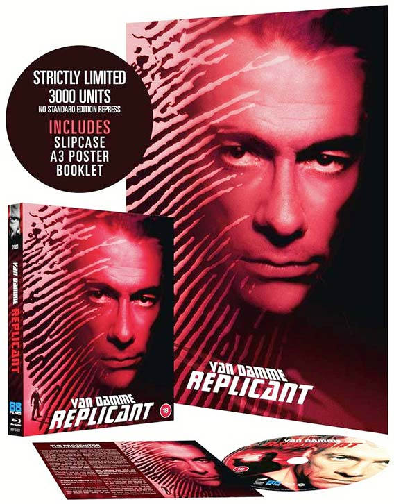 Replicant 2001 now on Blu ray