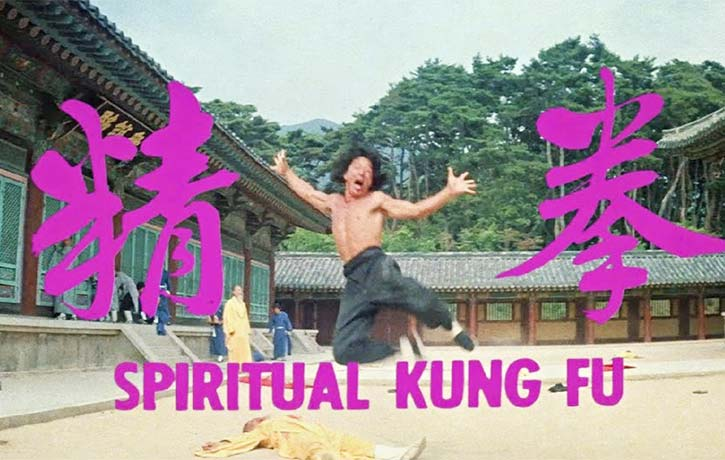 Spiritual Kung Fu was released to cash in on Jackie Chans new found stardom