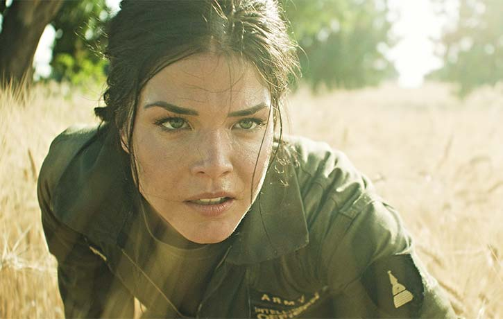 Star of The 100 Marie Avgeropoulos gets in on the action