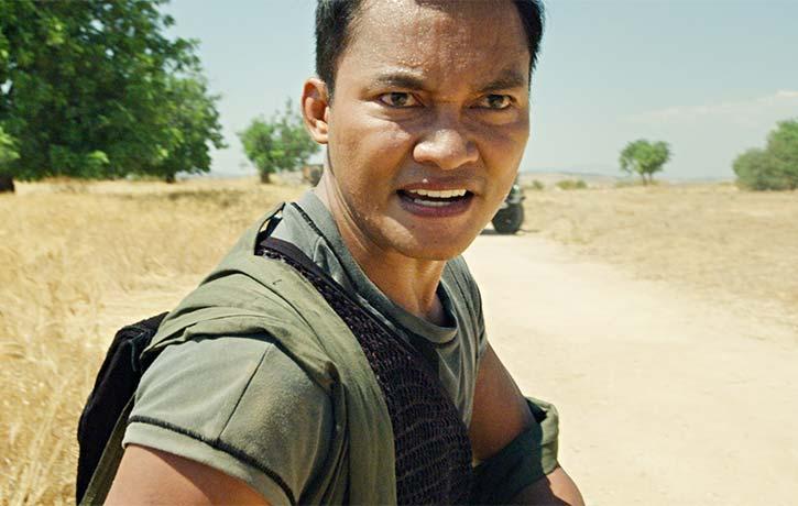 Tony Jaa as Keung is always fierce in battle
