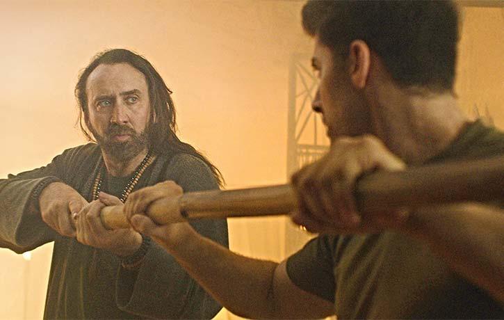 Wylie tries to awaken the warrior within Jake