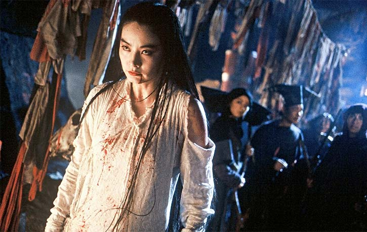 Zhuo Yihang persuades Lian Nichang to leave the cult