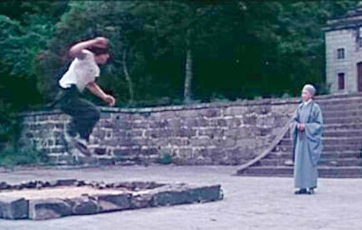 A Nun tries to teach the true meaning of kung fu