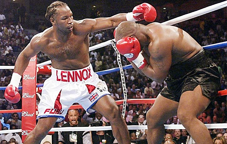 Clash of Titans Lewis vs Tyson