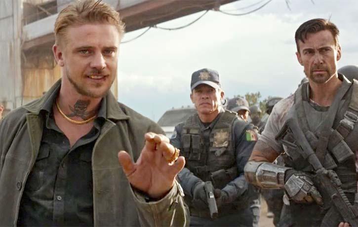 Daniel appears as a mercenary in Logan