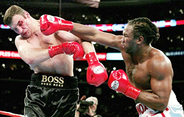 Lennox unleashes on Vitali Klitschko