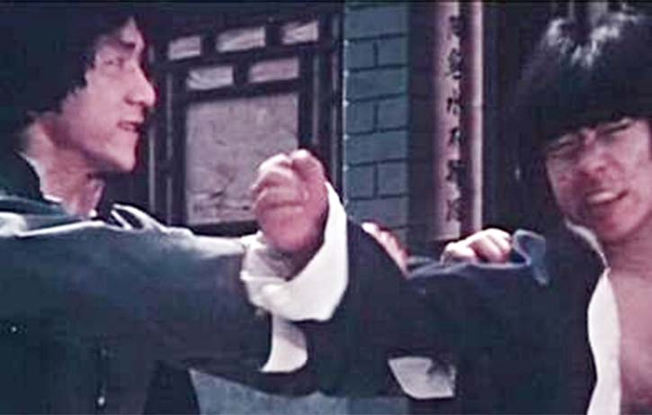 The great Yuen Biao makes an appearance