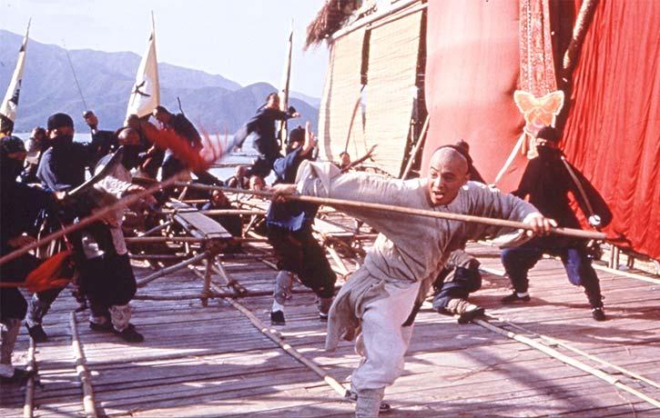 The opera ambush is just one of dozens of stunning fight scenes