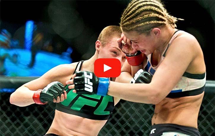 Vs. Paige VanZant – UFC Fight Night 80 Dec. 10 2015