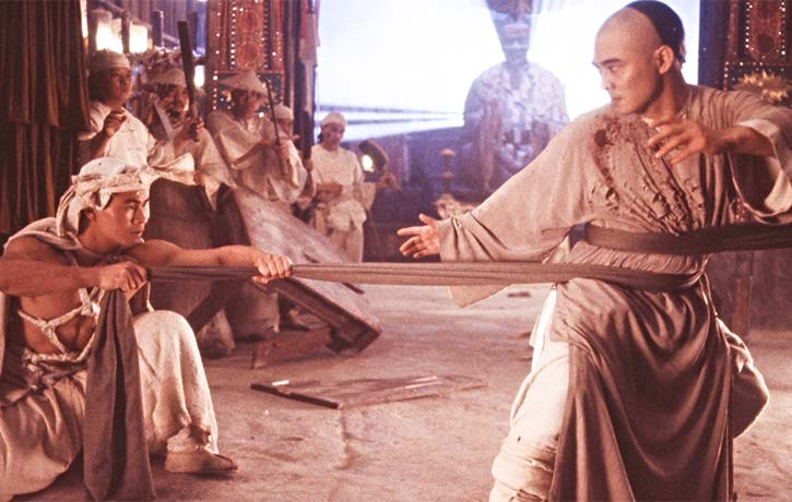 Wong Fei Hung challenges the White Lotus Cult