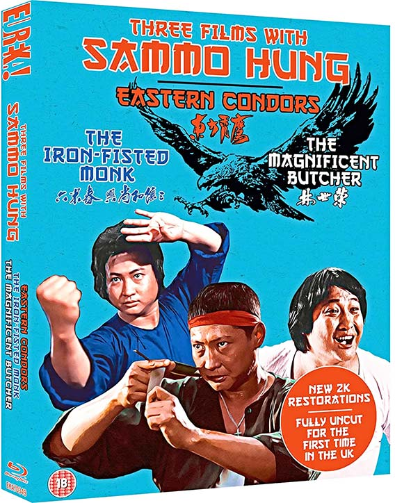 3 Films with Sammo Hung Blu ray