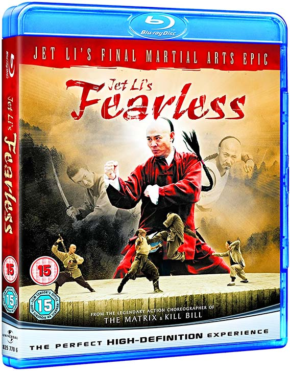 Fearless Blu ray version
