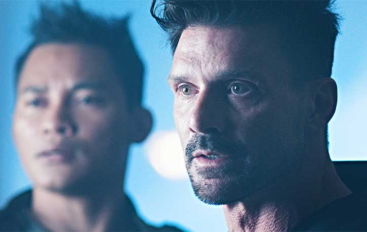 Frank Grillo as Harrigan