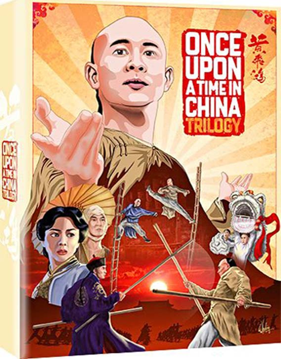 Once Upon a Time in China Trilogy Blu ray Box Set Reissue with extras