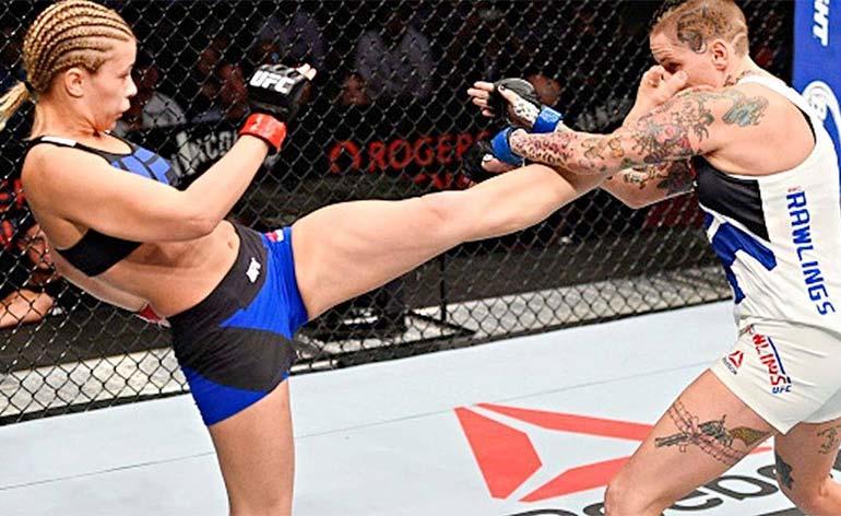 Paige VanZant- Top 5 MMA Finishes - Kung Fu Kingdom
