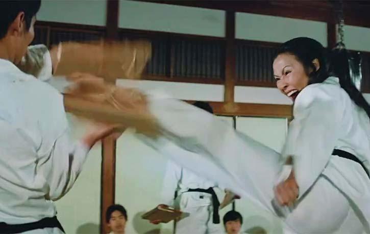 A little Tang Soo Do from Cheng Siu Siu