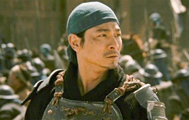 Andy Lau stars as Zhao Zilong