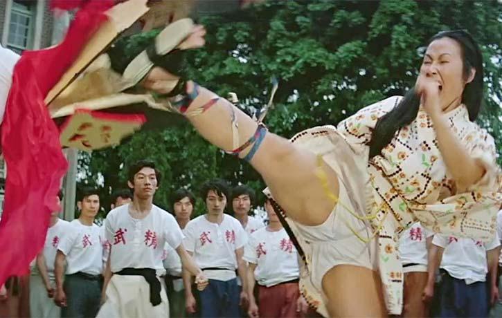 High kicking Cheng Siu Siu plays Okimuras daughter